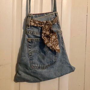 Vintage Levi's Jeans Purse